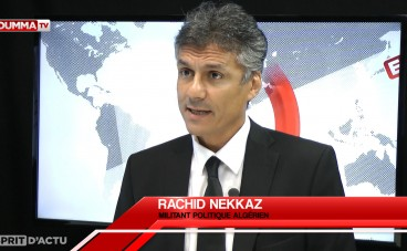 R.Nekkaz: 'J'ai payé 245 000€ d'amende pour port de niqab'