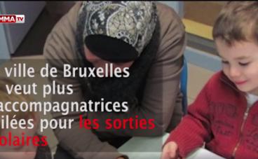 Bruxelles: les mamans voilées n'ont plus le droit d'accompagner leurs enfants lors des sorties scolaires