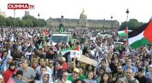 Le reportage d'OummaTV sur la manif parisienne de solidarité avec Gaza