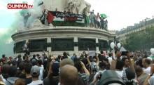 """Gaza: """"Hollande et Valls, on ne vous oubliera pas """""""