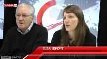 Expulsée d'Israël, Elsa Lefort, épouse de Salah Hamouri témoigne sur OummaTV