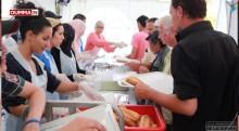 Reportage sur l'opération les tables du Ramadan