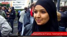 Islamophobie: reportage sur le  rassemblement à Argenteuil