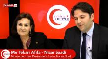 """Nizar Saadi : """"On construit l'avenir en tirant les leçons du passé"""""""