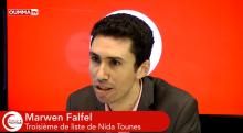"""Marwen Falfel, liste Nidaa Tounes : """"Nous sommes enracinés dans le réformisme Tunisien"""""""
